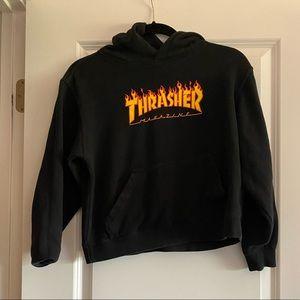 Kids medium Thrasher hoodie